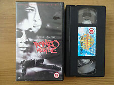 ROMEO MUST DIE, USED VHS MOVIE 2001, JET LI, AALIYAH