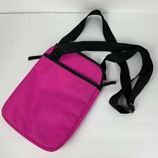 A D Sutton Padded Tablet Case With Shoulder Carry Adjustable Strap Pink 8.5x11.5