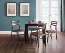 Julian Bowen Monterey Walnut Solid Dining Kitchen Table & 4 Chairs Wood