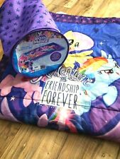 My Little Pony Sleeping Bag Camping Travel Bag Full Length Zip Around