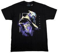 The Avengers Engame Marvel Mens Vintage Black 80s 90s Thanos T-Shirt Cartoon Tee