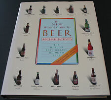 The New World Guide To Beer By Michael Jackson Rare Autographed Copy