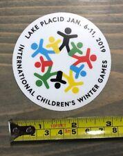 Whiteface Sticker Decal Ski Resort Belleayre Childrens Winter Games Lake Placid