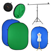 Chromakey Backdrop & Stand | Blue & Green Screen | Video Background Youtube Film