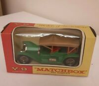 MATCHBOX  Y9 SIMPLEX 1912 WITH BOX/VINTAGE 1970/MODEL OF YESTERYEAR