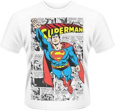 Superman - Comic Strip T-Shirt Homme / Man Taille / Size S PLASTIC HEAD