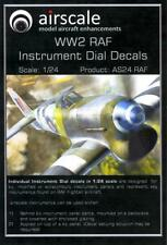 Airscale Decals 1/24 BRITISH RAF World War II GENERIC INSTRUMENT DIALS