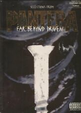 PANTERA- SELECTION FROM FAR BEYOND DRIVEN- AUTHENTICA GUITAR TAB EDITION