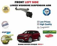 FOR RANGE ROVER EVOQUE 2.0 2.2 2011-> FRONT LEFT LOWER WISHBONE SUSPENSION ARM