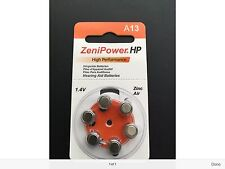 ZeniPowermHP Hearing Aid Batteries CHEAPEST PRICE OF EBAY!!! Long Expiration