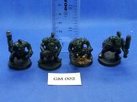 WH40K/Gorkamorka - Ork Boyz with Punk Heads x4 - GM02