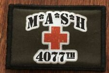 MASH 4077th Morale Patch Tactical Military Army Hook Badge USA Funny Ve-LCRO