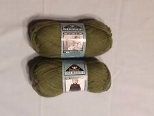 Phentex Merit 100% acrylic yarn - Forest - lot of 2 skeins