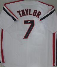 Major League TOM BERENGER Signed Indians JAKE TAYLOR Custom Jersey AUTO - JSA