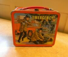 Vintage Emergency! Metal Lunchbox (Only) 1973 Aladdin