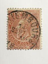 Belgium RARE stamp 10 Bellies Posterijen Used 1884-1891