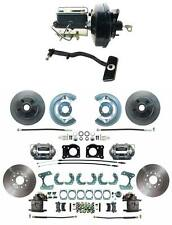 1967-69 Ford Mustang Front & Rear Power Disc Brake Conversion Kit, Autos Only