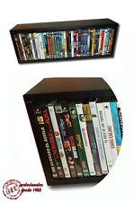 MUEBLE SOBREMESA / ESTANTERIA COLGABLE PARA ARCHIVAR 40 DVD / 45 BLU RAY Y PS3