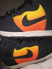 f5a2eed16dff95 SAMPLE NIKE SB DUNK SUNSET huf flash orange supreme cement what the RARE  size 9