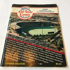 1989 Triple A All Star Game Multi Signed Program