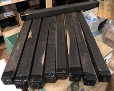1 Gabon Ebony 1.25x1.25x18 Woodturning Lumber Wands Clarinets Calls Ebony Timber