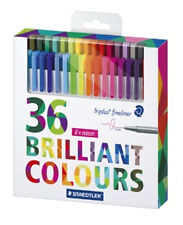 Staedtler Ft Triplus Brilliant Colours 36 Fineliner Box
