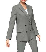ONLY Carrie Blazer trendige Damen Business-Jacke im Reverskragen Arbeits-Blazer