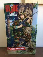 "GI Joe GI Jane US 82nd Airborne Classic Collection Brunette 12"" Figure"
