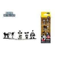 Mickey Mouse 90th Anniversary Nano Metalfigs Die-Cast Metal Mini-Figure 5-Pack
