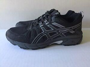 ASICS GEL-Venture 7  *New*  Women's Trail Running Shoes 8.5W Black/Grey 1012A477