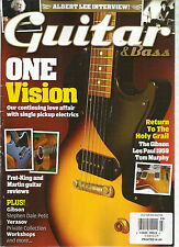 GUITAR & BASS,   MARCH, 2014   VOL. 25  ( ALBERT LEE INTERVIEW ! * ONE VISION )