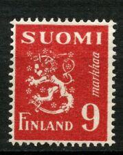 Finlandia 1947-52 SG # 432, 9 m Carmine definitivo MH # 31787