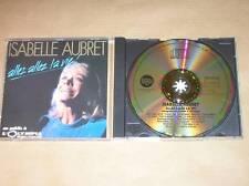 CD / ISABELLE AUBRET / ALLEZ ALLEZ LA VIE ! / TRES BON ETAT