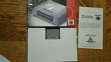 CIB - Nintendo 64 N64 Controller Pak Pack Memory Card Official