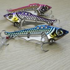 40g Fishing Bait Lure Collocation Origin Treble Hooks Artificial Hard Lure PESCA 3pcs Mixed Color