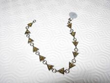 Ambre argent forme triangulaire Bracelet 100% Genuine Baltic