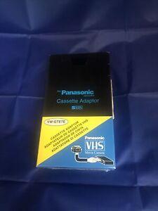 Panasonic VHS Casette Adapter VW-GTE7E