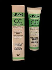 NYX COSMETICS Green CC Cream Light/Medium