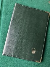 credit cards wallet old Rolex accessory Vintage Rolex watch gloss finish leather