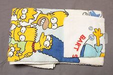 Vintage The Simpsons Towel & Wash Cloth Set NOS NEW Bart Simpson 1990 90's