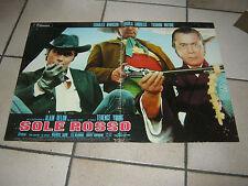 FOTOBUSTA, SOLE ROSSO CHARLES BRONSON U. ANDRESS,A.DELON TOSHIRO MIFUNE