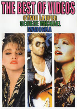 CYNDI LAUPER GEORGE MICHAEL MADONNA  THE BEST OF VIDEO 36 VIDEOS POP 80'S OLDIES