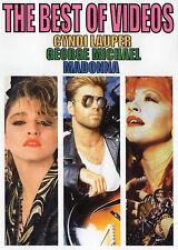 CYNDI LAUPER GEORGE MICHAEL MADONNA  THE BEST OF VIDEO 36 VIDEOS POP 80'S OLDIES