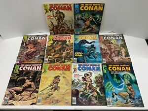 Savage Sword of Conan #47-56 (1974) Vintage Lot 10 Magazine Issues FN/VF- Curtis