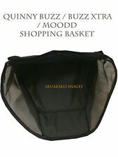 Brand New Geniune  Quinny Buzz  / MOODD SHOPPING / STORAGE BASKET BLACK ES155
