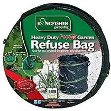 HEAVY DUTY POP UP GARDEN REFUSE BAG 73L WITH HANDLES COLLAPSIBLE WEEDS GRASS GB3