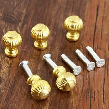 5 x Pull Knobs Jewelry Box Cabinets Cupboard Handles Antique Furniture Hardware