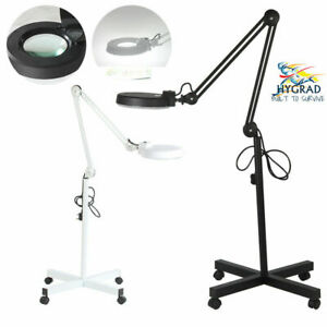 Daylight 5X Magnifying Magnifier Lamp Light Salon Spa Beauty Nail Floor Lamp UK
