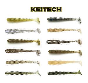 "Keitech Swing Impact Paddle Tail Swimbait 3"" (7.6 Cm) 10 Pack Keitech Lures"