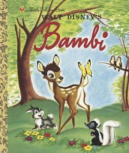 Bambi (Disney Bambi) (Little Golden Book) by Golden Books